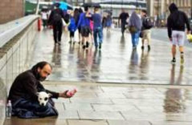 Лондон бьет рекорды по количеству бездомных