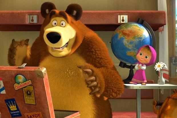 Известен предварительный выход полнометражного мультфильма «Маша и Медведь»