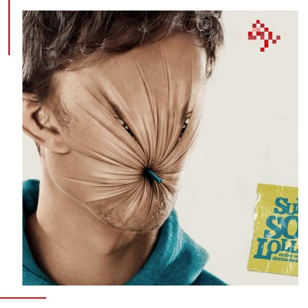 Реклама супер кислых леденцов