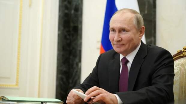 Президент России поделился результатами теста на антитела к COVID-19