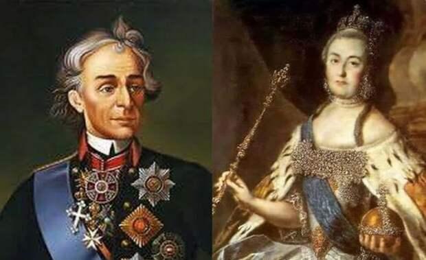 За что Екатерина Великая подарила Суворову более чем восемь тысяч крепостных душ