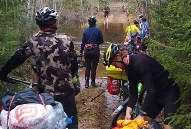 На велосипедах до Карелии добрались члены кубанской экспедиции «РоссиЯ-2021»