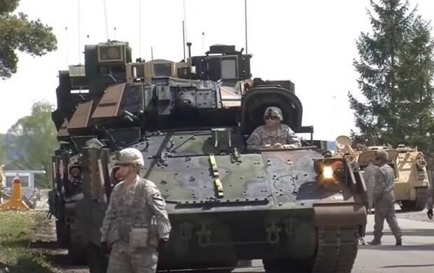 Американская БМП Bradley получит гибридную силовую установку вместо дизельной