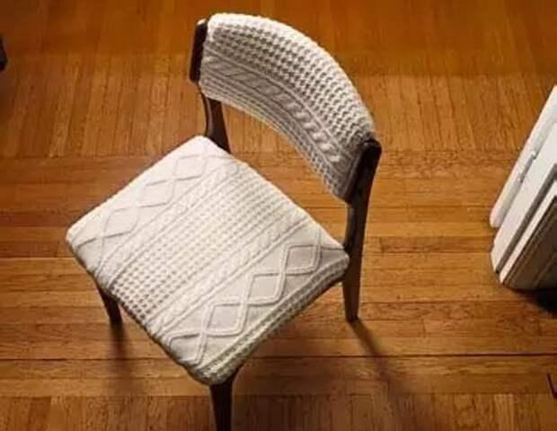 Такой стул точно не встретишь в обычном мебельном магазине. /Фото: media.dumazahrada.cz
