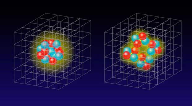 Учёные России и США выяснили принцип создания ядерной материи