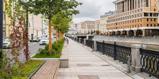 Собянин рассказал об итогах программы благоустройства Москвы в 2021 году. Фото: М. Мишин mos.ru