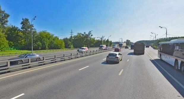 На Новорязанском шоссе разрешенную скорость увеличили до 80 км/ч