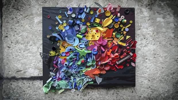 Художник привлек внимание к загрязнению окружающей среды с помощью мусорной инсталляции
