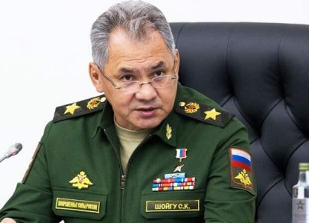 Шойгу отдал войскам приказ покинуть приграничные с Украиной районы