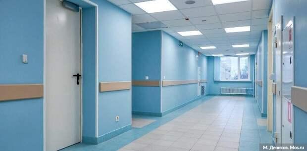 Частную клинику в ЮВАО закрыли за нарушения мер профилактики COVID-19. Фото: М. Денисов mos.ru