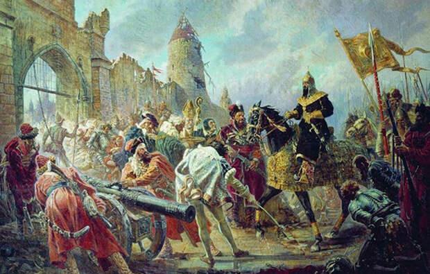 Военные заслуги Ивана Грозного