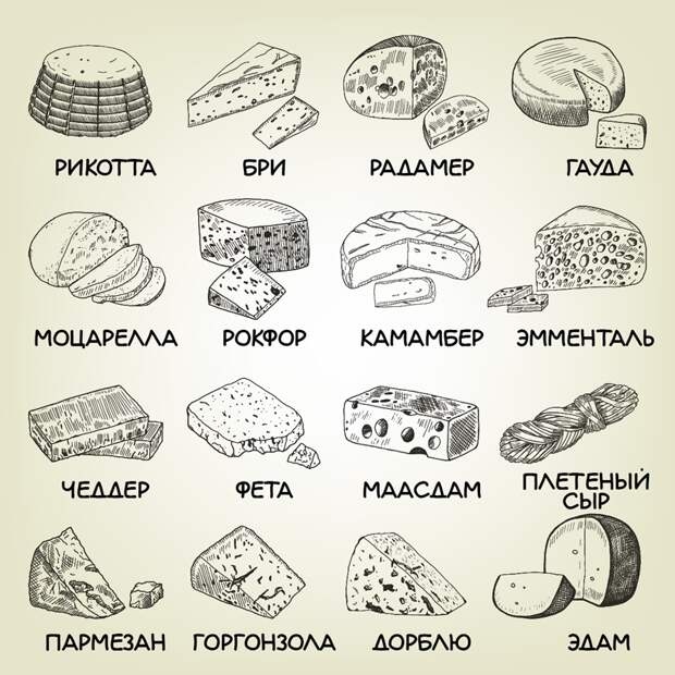 как правильно подавать сыр бри