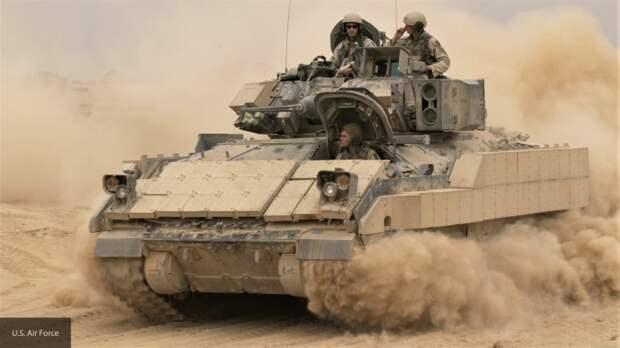 США начали войсковые испытания модернизированной БМП M2A4 Bradley