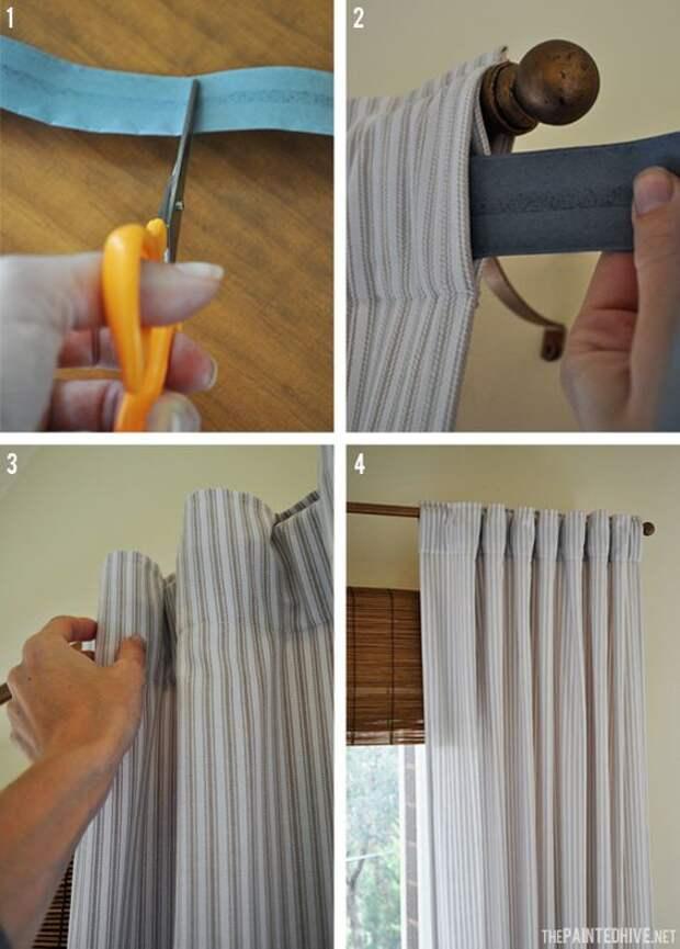 Идеи для интересных штор