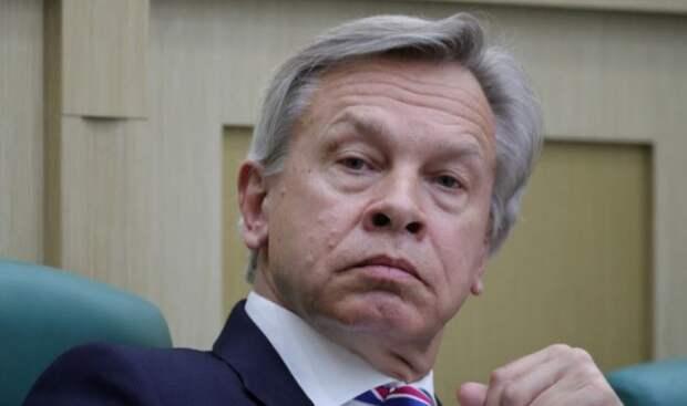 Пушков отреагировал на слова Киева о сотрудничестве РФ и Белоруссии