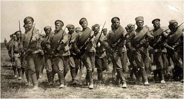 Ударные части Русской армии в конце Первой мировой войны