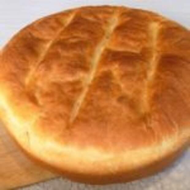 Домашний белый хлеб на молоке