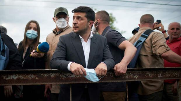 Киевский режим становится токсичным для западных покровителей