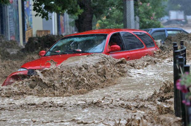Почти всемирный потоп в Крыму