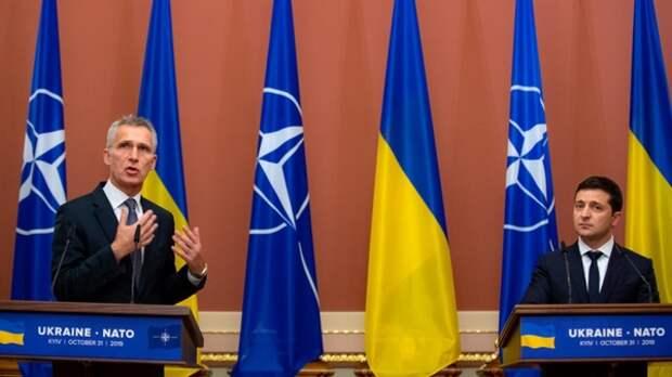 Зеленский призвал НАТО срочно решать вопрос с принятием Украины в Альянс