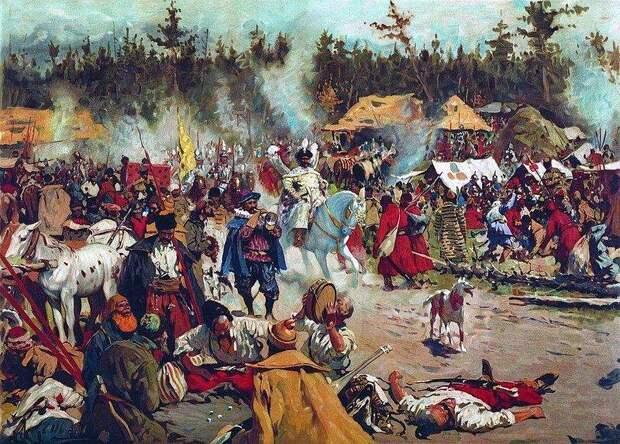 «Стародубский вор» против Шуйского. Битвы под Болховом и на Ходынке