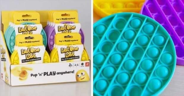 Новые популярные игрушки:  Поп-ит и симпл-димпл