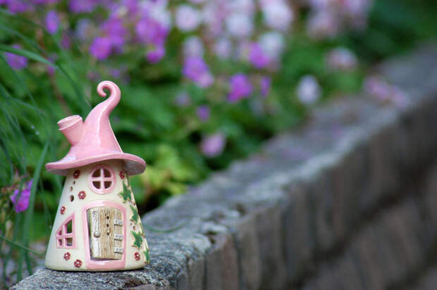 Домики для фей: волшебные керамические подсвечники Antje Rosemann