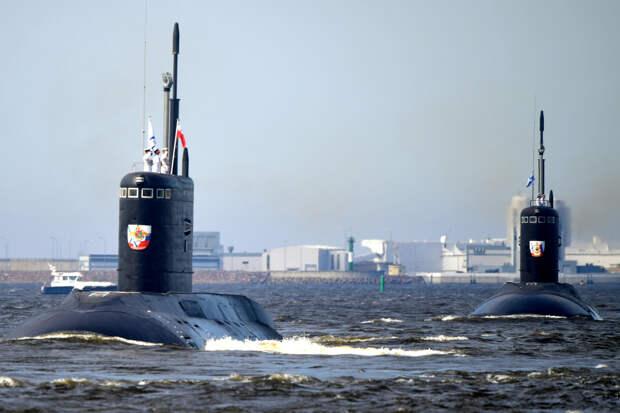 Россия вошла в пятерку сильнейших военно-морских держав