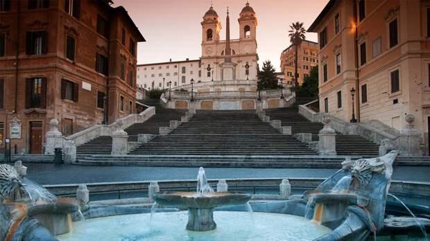 Испанская лестница в Риме — 138 ступеней восторга