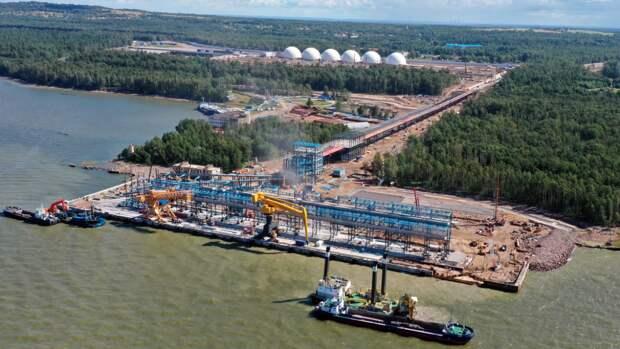 Порты РФ перевыполняют план по перевалке белорусских нефтепродуктов