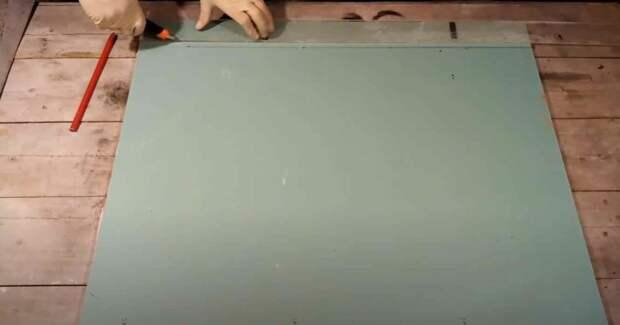 Как сделать декоративный кирпич из гипсокартона