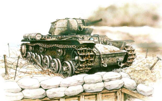 192 часа в окруженных танках. Огнеметные КВ-8, потеряв ход, несколько дней отбивались от немцев. Круче любого Голливуда