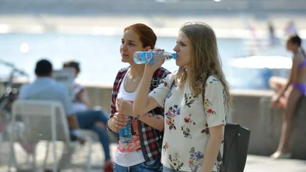 Москва побила 63-летний температурный рекорд