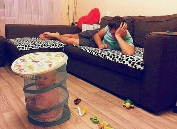 Такая сложная роль отца. | Фото: BlogAnChoi.