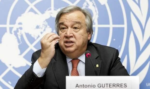 Генсек ООН призвал остановить конфликт вИзраиле исекторе Газа