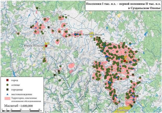 Суздальское Ополье: 20 лет полевых исследований, 400 селищ