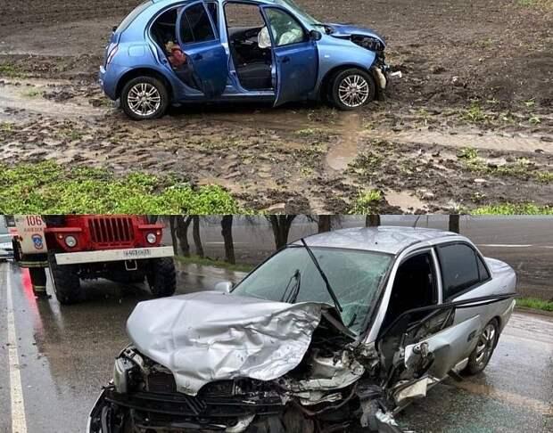 В аварии на Кубани погиб ребенок