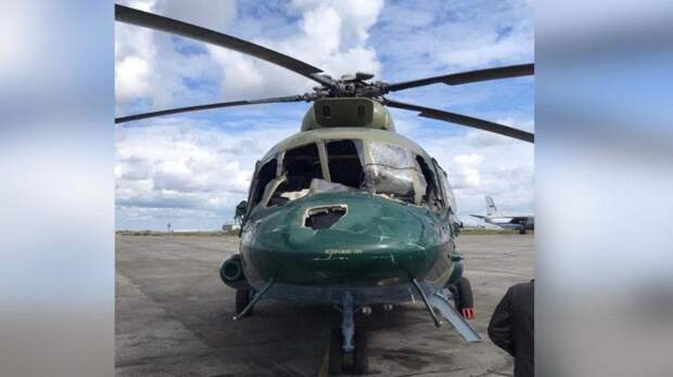 Сельскохозяйственный вертолет рухнул в Краснодарском крае