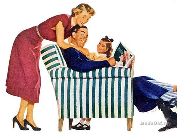 Стиль 50-х годов: степфордские жены