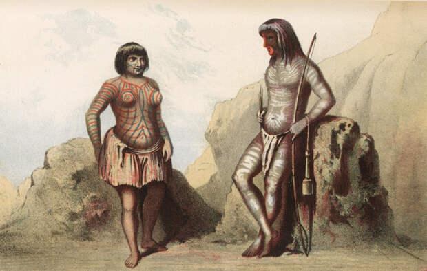 Украдена индейцами: тайна женщины с татуировкой на лице