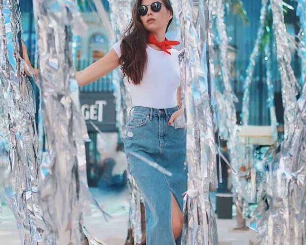 Модное джинсовое лето! 15 самых популярных образов денима 2018