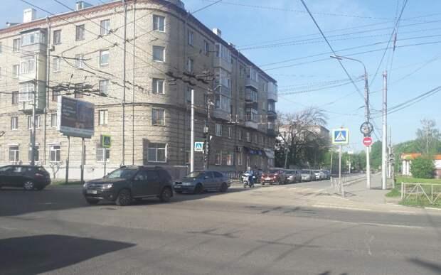 В Рязани отключились светофоры на перекрёстке
