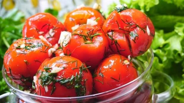 Быстрые Закусочные помидоры в пакете Помидоры, Рецепт, Видео рецепт, Видео