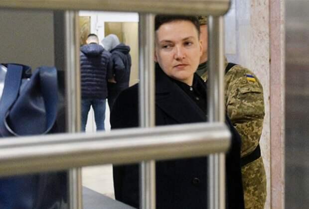 Савченко объявила о начале голодовки