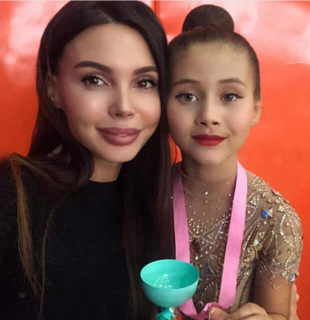 Дочери Ксении Бородиной и Оксаны Самойловой выступили на соревнованиях