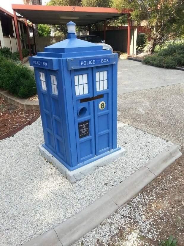 9. вот это да!, креатив на улице, креатив умельцы, наши руки не для скуки, необычное в обычном, почтовые ящики, почтовый ящик, смелое решение