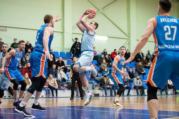 Ижевске баскетболисты «Купола-Родников» уступили в первом матче за бронзу в Кубке России