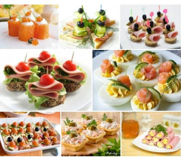 7 рецептов закусок к праздничному столу
