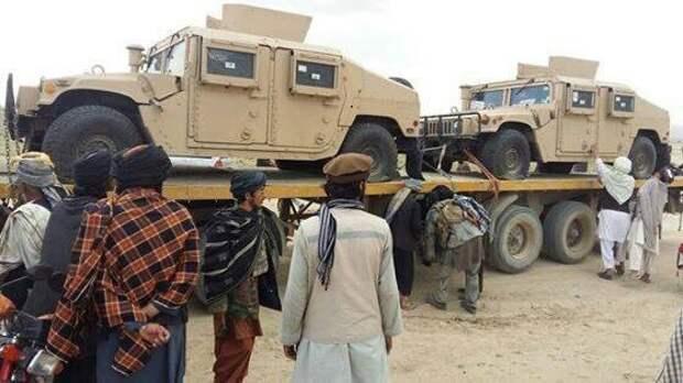 "Талибы захватили несколько ""шайтан-машин"""