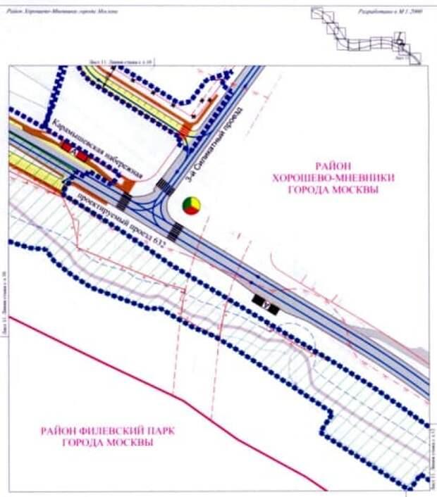 В 3-м Силикатном проезде появится новый пешеходный переход